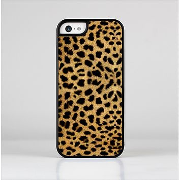 The Orange Cheetah Fur Pattern Skin-Sert Case for the Apple iPhone 5c