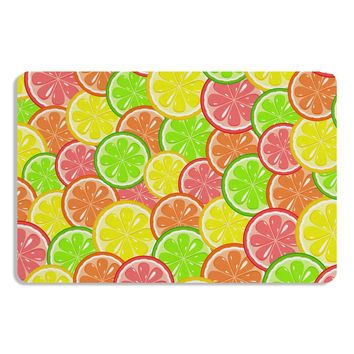 Colorful Citrus Fruits Placemat All Over Print