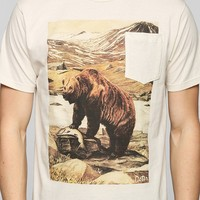 Deter Bear In Habitat Pocket Tee - Urban Outfitters