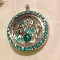 Under the Sea Floating Charm Memory Locket