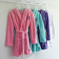 Classic Short Robe with Hood