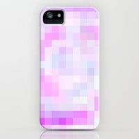 Re-Created Colored Squares No. 25 iPhone & iPod Case by Robert Lee