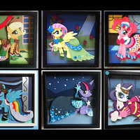 My Little Pony Gala Dresses