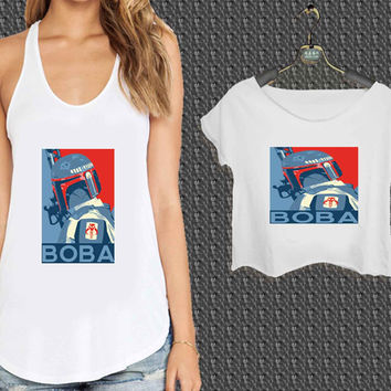 Baba Star wars Obey For Woman Tank Top , Man Tank Top / Crop Shirt, Sexy Shirt,Cropped Shirt,Crop Tshirt Women,Crop Shirt Women S, M, L, XL, 2XL*NP*