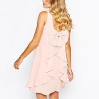 Coast Lauren Dress With Bow Back