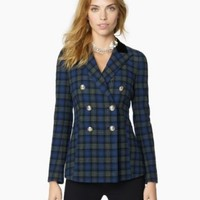 Juicy Couture | TARTAN WOOL JACKET