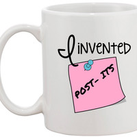 I Invented Post-Its Mug
