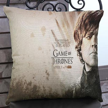 Manufacturers Direct Supply  Film Game Of Thrones Printing Short Soft Plush Throw Pillow Home Chair Seat Back Cushion