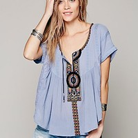 Free People Womens Parting Sun Top