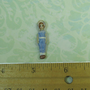 Dollhouse Miniature Tiny Doll with Hat
