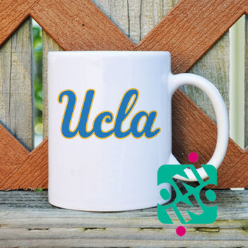Ucla Logo Coffee Mug, Ceramic Mug, Unique Coffee Mug Gift Coffee