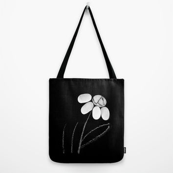 pebble flower Tote Bag by ARTbyJWP