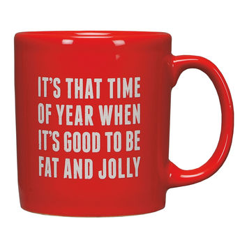 Fat and Jolly Mug