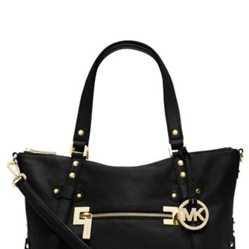 MICHAEL Michael Kors 'Corrine - Large' Leather Satchel | Nordstrom