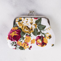 Floral Mini Coin Bag
