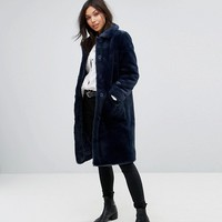 Parka London super Soft Faux Fur Coat at asos.com