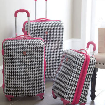 "Heys - ""Houndstooth Retro"" Luggage - Horchow"