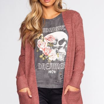 Ellie Cardigan - Rose