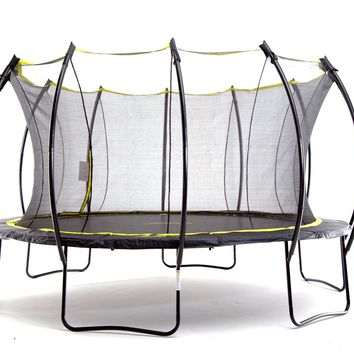 """SkyBound """"Stratos"""" 15 ft Trampoline with Full Safety Net Enclosure System"""