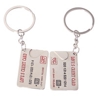 Gift Trendy Great Deal Hot Sale Creative Functional New Arrival Metal Couple Innovative Keychain [11496558735]