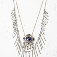 Two-Tone Layered Necklace