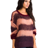 SONIA by Sonia Rykiel Sweater in Terre/Poudre/Gamay
