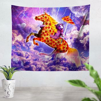 Horse Pepperoni Tapestry