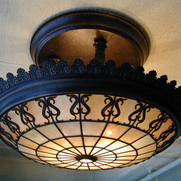 Commonwealth Light Fixture by TiffanySGLtdChicago on Etsy