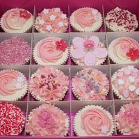 Pretty Pink Cupcakes | Cute Cupcakes | CutestFood.com