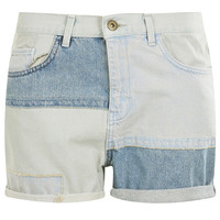 Tall MOTO Patchwork Denim Shorts - New In This Week - New In - Topshop USA