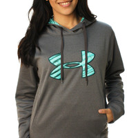Under Armor Women's Big Logo Storm Armour Hoodie