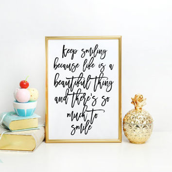 Typographic print Marilyn Monroe Quote Typography Black and White Inspirational Art Print nursery Home decor Valentine wife Gift for her