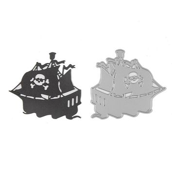 Stencil Ship Shape Scrapbooking Craft DIY Metal Cutting Dies Die Toys