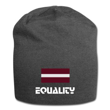 Unisex Equality BEANIE LGBTQ Equal Human Rights Equal Sign
