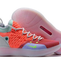 Kevin Durant KD 11 Pink/Red Basketball Shoes