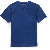 Blue Blue Japan - Indigo-Dyed Slub Cotton-Jersey T-Shirt | MR PORTER
