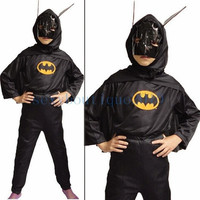 Batman Dark Knight Unisex Kids Halloween Fancy Costumes Cosplay Suit 3 Size New
