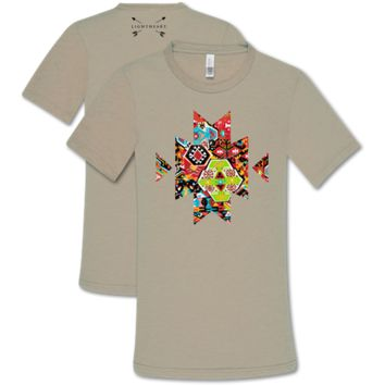 Southern Couture Lightheart Aztec Cross T-Shirt