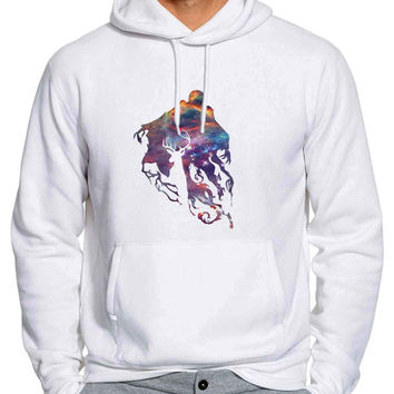 Expecto Patronum Spell Magical Space Harry Potter Hoodie / Unisex Hoodie