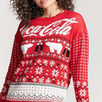 Coca Cola Holiday Sweater