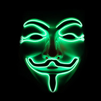 Light Up Guy Fawkes Mask