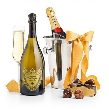Champagne and Chocolates for Two - One Dom Perignon