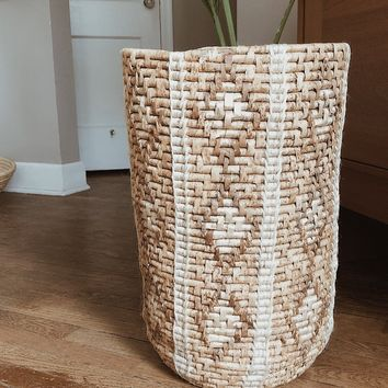 Giant Coil Basket Planter