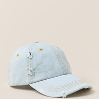Xena Light Denim Baseball Cap