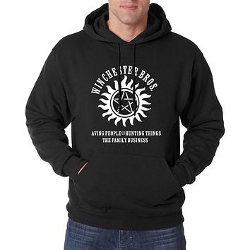 Supernatural Winchester Hoodies 2017 hot sale spring winter men sweatshirts fleece SPN hip hop hoodie men sudadera hombre S-2XL