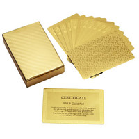 [Hot Item] Gold Foil Playing Cards (WD-G001)