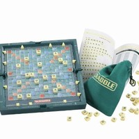 Mattel Games Magnetic Pocket Scrabble