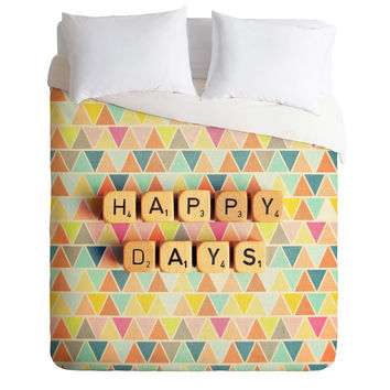 Happee Monkee Happy Days Duvet Cover