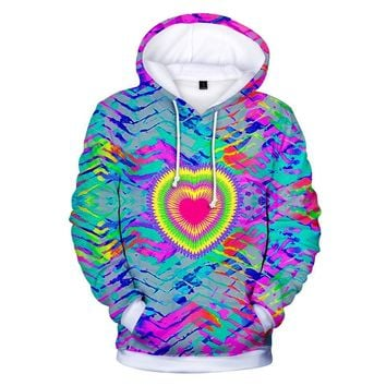 KPOP BTS Bangtan Boys Army  autumn/winter fashion men and women tie-dye 3D Clear pop hip hop lounge hooded sweatshirt xxs-4xl AT_89_10