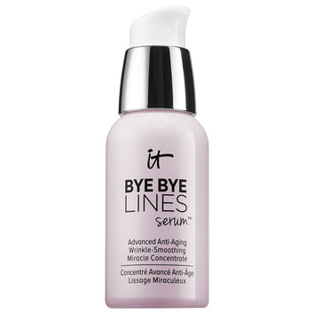 Sephora: IT Cosmetics : Bye Bye Lines Serum™ Advanced Anti-Aging Wrinkle-Smoothing Miracle Concentrate : face-serum